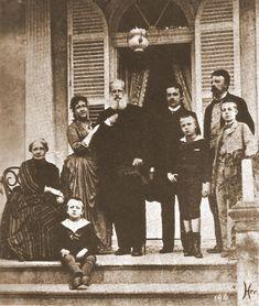 Familia imperial em 1888 na Quinta da Boa Vista, no Rio de Janeiro