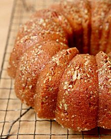 "This recipe for sweet-potato bourbon bundt cake is from ""Bundt Classics"" by Dorothy Dalquist."
