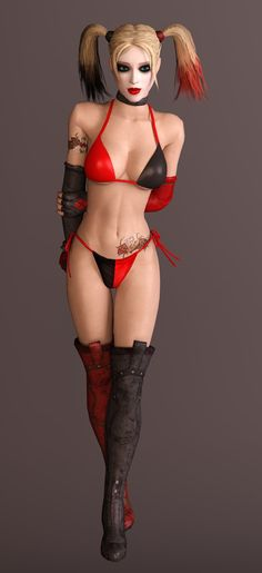 Batman Arkham City - Harley Quinn