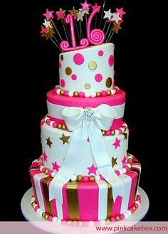 Topsy Turvy Star Cake