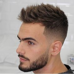 15 Best Short Haircuts For Men – Mr. Right 15 Best Short Haircuts For Men agusbarber_-short-mens-haircuts-textured-spikes Best Short Haircuts, Popular Haircuts, Fresh Haircuts, Trendy Haircuts For Men, Latest Haircuts, Summer Haircuts, Hairstyles Haircuts, Trendy Hairstyles, Classic Hairstyles