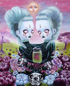 The Twins ANNA-MAIJA METTÄLÄ Tumblr Deviant Art