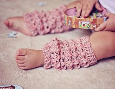 Baby Leg warmers, crochet pattern (child, adult size included) by VictoriaB80