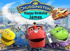 Disney Chuggington Train Birthday Invitations with FREE Thank You