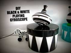 DIY TOYS : PLAYING GYROSCOPE