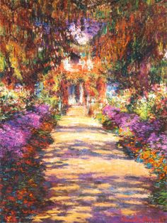 Monet painting. Impressionism Posters at AllPosters.com