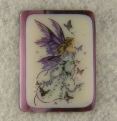 Handmade Winged Fairy Princess Fused Glass Brooch / Pendant Glass Artwork, Fused Glass Jewelry, Fairy Princesses, Home Accents, Sisters, Wings, Brooch, Unique Jewelry, Pendant