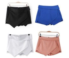 New hip style tiered skorts (skirt shorts) in 4 colors and 5 sizes. XS S M L XL Waist: Hips: Leg Opening: Length: - We Are Forever Girl Maria Ferreira, Short Outfits, Cute Outfits, Short Skirts, Mini Skirts, Culotte Shorts, Forever Girl, Sexy Shorts, Outfits