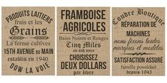 Výsledek obrázku pro vintage french printables