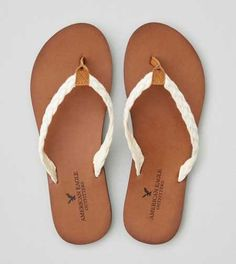 AEO Braided Leather Flip Flop - Buy One Get One 50% Off + Free Shipping