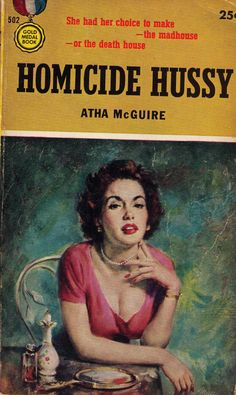 Homicide Hussy, Gold Medal Books, 1955