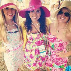 My favorites!!! @caitlinmoliver @mmthomas0817 #carolinacup  (at Carolina Cup)