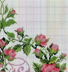 Cross Stitch Needles, Cross Stitch Rose, Cross Stitch Borders, Cross Stitch Flowers, Cross Stitching, Cross Stitch Embroidery, Cross Stitch Patterns, Christmas Cross, Needlepoint