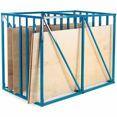 FREE delivery on Vertical Sheet Rack with 6 compartments max x sheets, UK Helpline Available, Trusted Suppliers of Industrial Products since 1975 Sheet Storage, Art Storage, Storage Design, Lumber Storage Rack, Plywood Storage, Small Parts Storage, Steel Racks, Storage Trolley, Vintage Cafe