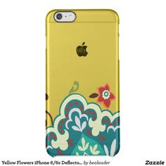 Yellow Flowers iPhone 6/6s Deflector case Uncommon Clearly™ Deflector iPhone 6 Plus Case