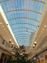 The World's Largest & Longest  Skylight at Riverchase Galleria Mall in Birmingham(Hoover),AL