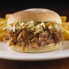 Hard Rock Cafe Pulled Pork Sandwich. BBQ goodness! #bbq #hardrock