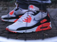 Nike Air Max 90 Hyperfuse Infrared - 2012 (by mr_whitestore)