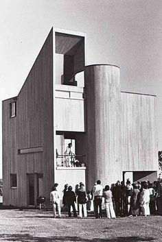 casa-estudio Gwathmey / Charles Gwathmey / Long Island / 1966