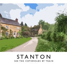 Stanton (Railway Poster)