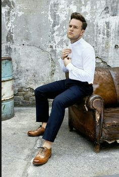 Attitude Mags Latest Shoot With Olly Murs Elvis Etc