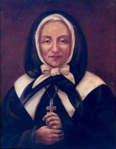 Portrait de Marguerite Bourgeoys avant la restauration