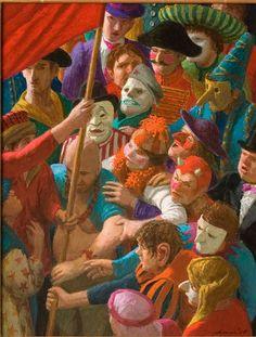 Kenne Gregoire 1951 | New realism dutch painter | Tutt'Art@