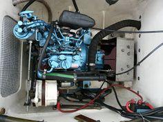Foto: 14 hp Nanni Diesel / Kubota inbord engine