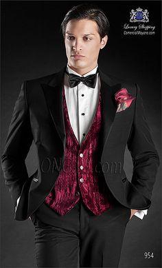Traje de novio negro 954 ONGala Wedding suit