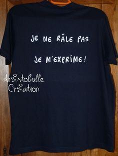 T-shirt râleur (dos)