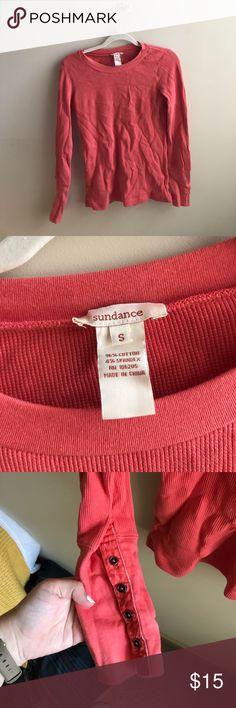 Sundance knit shirt I cute!  NWOT. Sundance Tops Tees - Long Sleeve