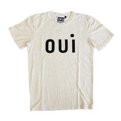CLARE VIVIER Oui T-Shirt - Creme