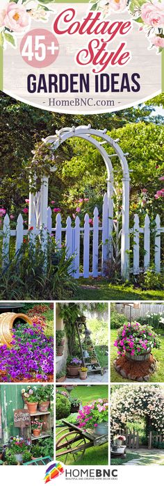 Blooming Cottage Style Garden Ideas for a Charming Outdoor, # Outdoor . Blooming Cottage Style Garden Ideas for a Charming Outdoor Area, # Exterior In. Cottage Garden Design, Garden Planning, Lawn And Garden, Diy Garden, Garden Projects, Amazing Gardens, Cottage Style, Garden Inspiration, Backyard Landscaping