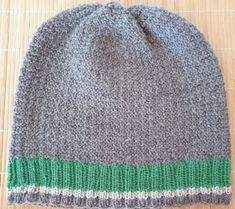 Hand-knitted hat in brown and green pure wool for men My Ebay, Mittens, Hand Knitting, Knitted Hats, Pure Products, Wool, Accessories, Fingerless Mittens, Knit Hats