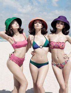 """Under The Sun"" | Models: Carola Remer, Alize Barange & Natalia Rassadnikova, Photographer: Greg Lotus, Vogue Italia, May 2014"