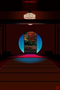 明月院の丸窓の写真を絵に! ClipStudioPaintで描画 Cute Backgrounds For Phones, Japan Architecture, Japan Image, Japanese Interior, Amazing Decor, Japan Photo, Japanese House, Japanese Culture, Japan Travel