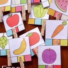 FREE Food Learning for PreK