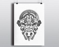 Bicycle Art Print Bike Art Print Vintage Campagnolo by VeloVintage