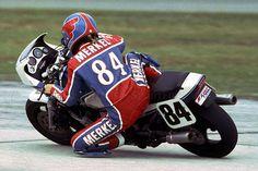 Fred Merkel Honda VF 750
