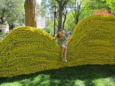 knitted wall art - Google Search
