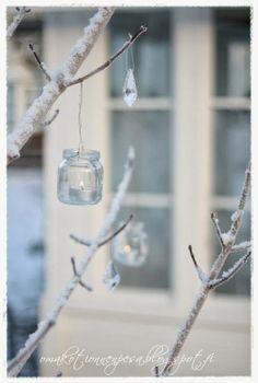 Oma koti onnenpesä: Talven kauneutta