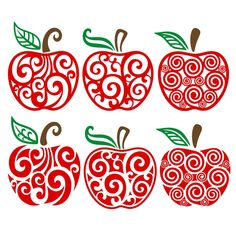 Apple Cuttable Design Cut File. Vector, Clipart, Digital Scrapbooking Download, Available in JPEG, PDF, EPS, DXF and SVG. Works with Cricut, Design Space, Cuts A Lot, Make the Cut!, Inkscape, CorelDraw, Adobe Illustrator, Silhouette Cameo, Brother ScanNCut and other software.