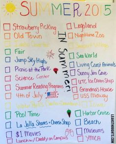 Your mission today is to create your own bucket list for fall.