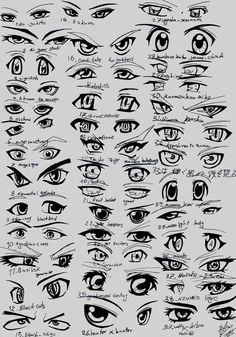 Anime eyes 3-5
