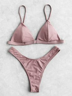Ensemble de bikini triangle -French SheIn(Sheinside)