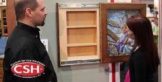 Hometalk :: Hidden Door Storage: More Ways to Conceal