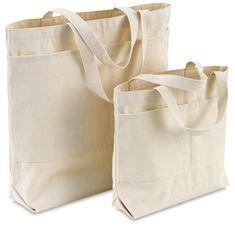 Canvas Tote Bags, w/Pockets Printed Tote Bags, Canvas Tote Bags, Bag Essentials, Diy Tote Bag, Fabric Bags, Paper Bags, Cotton Bag, Cotton Canvas, Shopper Bag
