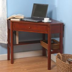 Tms Furniture Cherry Corner Desk 23607chy