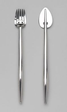 Inspiration: Fish Knife and Fork Charles Rennie Mackintosh (British, MOMA