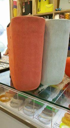 Brush papaia ed avorio
